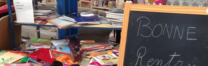 Collecte d'objets réutilisables