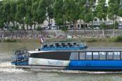 Un bateau croisière sur l'Oise