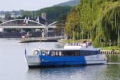 Le bateau l'Escapade sur l'Oise à Compiègne