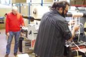 Atelier de création d'étiquettes à Longueil-Annel