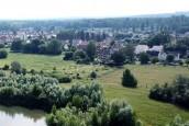 vue du village du Plessis Brion