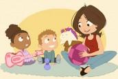 Exposition sur les assistantes maternelles