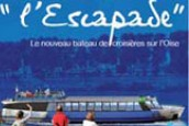 """Depliant du bateau-croisieres """"L'Escapade"""""""
