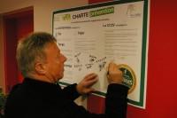 Signature de la charte de prévention
