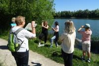 Découvrir les étangs du Plessis en langue des signes