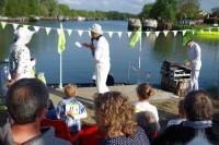 Photos du championnat du monde de ricochets fluorescents à Longueil-Annel (CC2V < Oise)