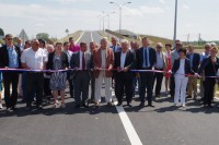 photos de l'inauguration de la desserte industrielle - samedi 13 juin 2015 - Ribécourt-Dreslincourt (Oise)