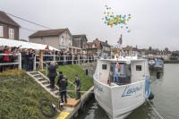 Photos de l'inauguration du bateau l'Escapade
