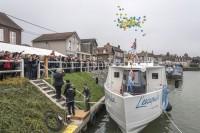Photos de l'inauguration du bateau l'Escapade