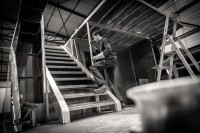 Photos de la construction de l'Escapade - bateau croisière pour l'Oise