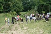 photos du sejour equestre des 7-12ans