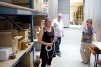 Sophie Ledot, et ses parents, gérante de la société SODICA